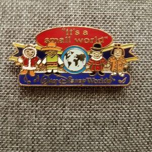 Disney Small World Enamel Collector's Pin